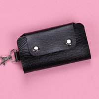 Wholesale Women Keys Holders Faux Leather Multifunction Key Wallets Durable Ladies Purse Key Rings High Quality Gifts ZS0111