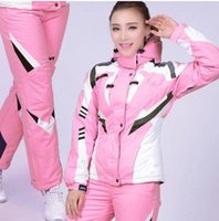 ski suit women - Snow suits spidder Women ski suits sports skiing wears waterproof skiing suits Outdoor ski jackets and pants