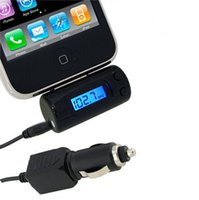 Wholesale FM Transmitter Car Charger for iPod iTouch iPhone G G