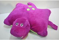 Cheap 30pcs Cartoon animal pillows lovely children's plush toy doll Benny folding pillow 37714678039 201412hql