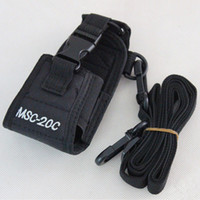 Wholesale MSC C Radio Case Holder For BaoFeng UV R Nylon Carry Case For TK GP328 GP338 TG UV2 KG UVD1P PX Tonfa UV