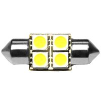 Wholesale 2x White Light SMD Car Festoon Dome LED Light Bulb License Plate Lamp VE996 W0 SYSR