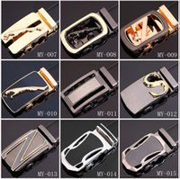 brand designer belts - Fashion Genuine leather new brand designer belts for men Business classic mens Automatic Buckle cowhide jeans straps belts styles
