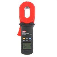 Wholesale UNI T Auto Range ohm Digital Clamp Earth Ground Resistance Testers w Auto Calibration Resistance Limit Alarm UT273 order lt no tr