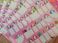achat en gros de école étiquettes autocollants-25pcs Cartoon animaux Nom Autocollants / label Nom stickers / enfant nom décalcomanie stickersfor école, garderie sac / tasse, bouteille livraison gratuite