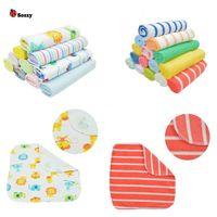 Wholesale 1pc Baby Towel Cotton Saliva Towel Nursing Towel Feeding Towel Wash Cloth Baby Handkerchief