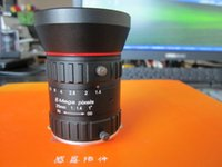aperture focal length - The pixel inch focal length of mm manual aperture C interface of intelligent transportation industry special lens