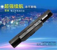 Wholesale A Grade for Laptop battery V MAH for ASUS A32 K53 X43S X84H A43S X54H A84S K43 A53 Power Bank