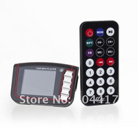 best tv transmitter - Promotion Fashion Blue quot LCD Car MP3 MP4 Player FM Transmitter SD MMC Best Buy