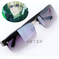 al por mayor vasos para los hombres japoneses-Al por mayor-Anime japonés DuRaRaRa !! Gafas de sol de moda gradiente DRRR Heiwajima Shizuo cosplay accesorios de los vidrios para las mujeres / hombres