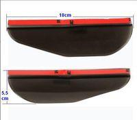 Wholesale 2Pcs Universal Flexible PVC Car Rearview Mirror Rain Shade Rainproof Blades car back mirror s eyebrow rain cover
