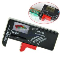Wholesale Universal AA AAA C D V Button Cell Battery Volt Tester Checker V PY