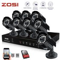 cctv camera - ZOSI HDMI IR Security System CH H DVR GB HDD HD Color CMOS Day Night Waterproof Outdoor tvl cctv Surveillance Camera