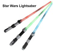 Plain hasbro - Star Wars Anime Hasbro Toy Electronic Laser Saber with Sound and Light Darth Vader Anakin Skywalker Cosplay Retractable Lightsaber Toys A284