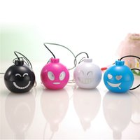 best quality computer speakers - Funny Face Mini Surround Speakers Fancy Design Best Laptop Speakers Promotion Price Good Sound Quality Computer Speakers SY001