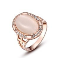 Cheap With Side Stones gold ring Best Bridal Sets Women's fashion jewelry