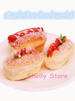food packaging materials - Simulation hot dog food model D fridge magnets soft PU material for lover kids photo prop cafe bar decoration