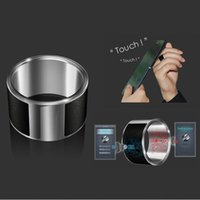 Wholesale The new second generation NFC smart phones ring wearable smart electronics adapt Android titanium steel magic ring gift