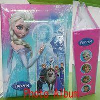 Wholesale Frozen Elsa Anna Photo Album Baby Girls Boys Album Photo Album Kids Children Student Yearbook XMAS Fashion Best Gift GZ GD68