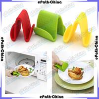 Wholesale Multi Color Bake Ware Oven Anti Scald Insulation Pliable Silicone Pot Holder Clamp