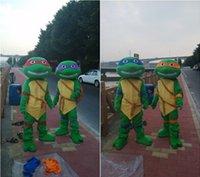 adult ninja costumes - Halloween party Teenage Mutant Ninja Christmas gifts superhero teenage mutant ninja turtles mascot adult size