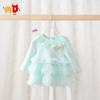 ad beautiful - AD M Beautiful Baby Girls Dress Summer Style Quality Cake Lap Cotton Baby Dress Baby Girl Clothing Clothes vestido infantil