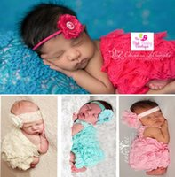 Wholesale 2015 hot sale baby lace ruffle lace romper summer style baby kids ivory onesie newborn lace jumpsuit QX