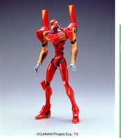 big model production - BANDAI EVA Production Neon Genesis Evangelion ROBOT action figure assembly toy doll model
