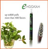 Cheap Disposable Electronic Cigarettes E hookah Portable E Shisha Pen 800 puffs Metal Tip E-hookah E-shisha 10 Flavor