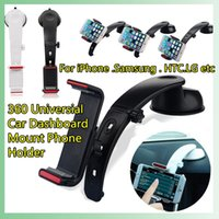 Wholesale High Quality Universial Car Dashboard Mount Phone Holder Stand Cradle Kit Mobile Phones For iPhone For Samsung For HTC