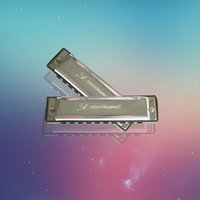 Wholesale The hole instrument ciling stainless iron copper base plate harmonica end of a single foreign trade