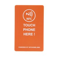 Wholesale Universal Smart NFC Tags with Smart Card bytes for Samsung Galaxy S5 S4 Note III for Nokia Lumia Sony Xperia Nexus