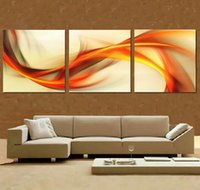 Cheap 3 Panel Modern Wall Painting abstract Home Wall Art Picture Paint on Canvas Prints free shipping