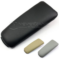 Wholesale New Leather Center Console Armrest Cover Lid for Audi A4 B6 B7 Black Grey Beige C10