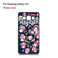 plastic plate - Samsung Galaxy A5 Cases DIY D Sublimation Heat Press PC Cover Case With Blank Metal Aluminium Plates DHL