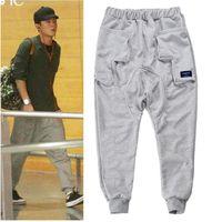 australian drop shipping - Australian Brand Mens Jogger Pants Banana Pants High Quality Drop Crotch Men Harem Pant Hip Hop Pantalones