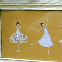 ballet stitch kit - New Simple Cross Stitch Sititches Ballet Girl Chinese Embroidery Fabric And Sewing Tools Made In China Beauty DIY Cragts Gifts