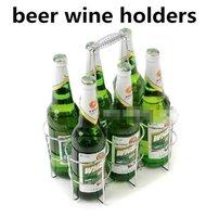 Wholesale metal wine beer holder Holders basket for Bar