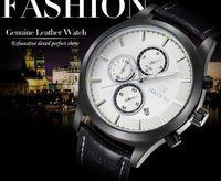 big clock hands - top quality big face multi function fashion sport boy s leather wrist watch brand name calendar quartz clock military mens watches hands