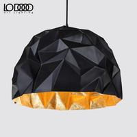Wholesale Le lamp Nordic retro industrial loft simple modern creative personality restaurant bar black shade Rock