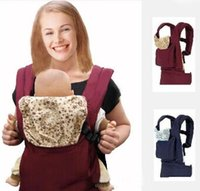 Wholesale Front Back Baby Carrier Multifunctional Baby Suspenders Backpack Sling Wrap Cotton