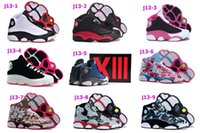 camouflage fabric - New arrive Hot Sale Air Retro jordan XIII Basketball Shoes Womens Sneakers Camouflage pink US Size