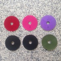 Wholesale 3 Step Polishing Pads quot mm Premium Grade High Efficiency Flexible Granite Marble Engineered Stone Soft Polishing Pad PL