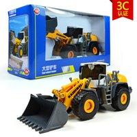 big loader toy - high quality kaidiwei brand Engineering Vehicle model toy car similar as siku big four wheel loader