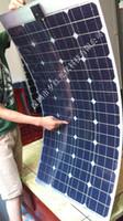 automotive solar panels - Monocrystalline silicon w v half flexible solar panel rv used for automotive panels car