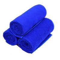 auto detailing supplies - Blue Large Square Microfiber Cleaning Auto Car Detailing Soft Cloths Wash Towel Car Wash Supplies x40cm