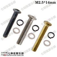 axle bolts - Guitar tuning peg handle mounting nut bolt string axle screw pad M2