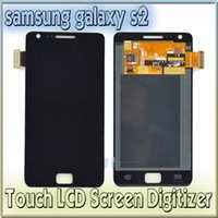 s2 i9100 - For Samsung Galaxy S2 I9100 LCD touch screen display with digitizer glass Assembly Free Tools Adehsive