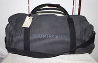 bags australian - Package mail Australian COUNTRY ROAD shoulder inclined back and canvas bag green stripes