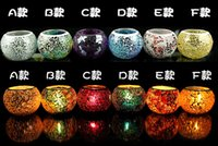 Wholesale 2016 Best selling Mosaic glass candle holders european style candlelight dinner wedding candle cup furnishing articles wedding gifts creativ